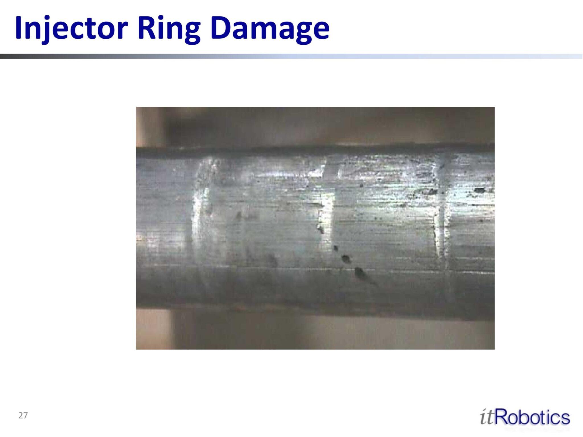 Injector Ring Damage