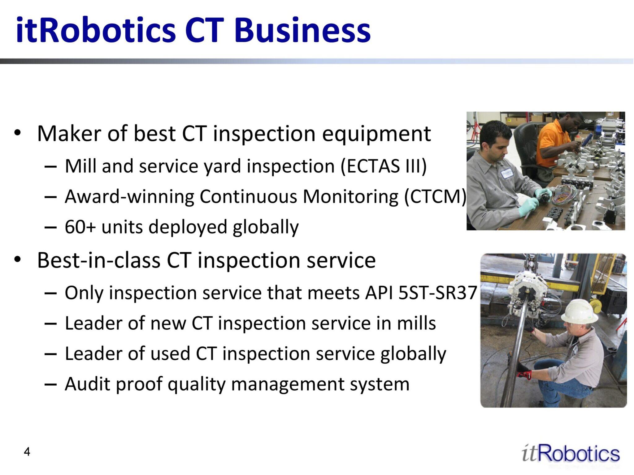 iRobotics CT Business